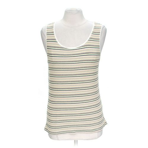 White Stag Striped Tank Top in size L at up to 95% Off - Swap.com