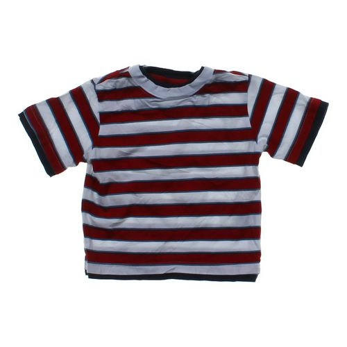 Authentic Graphite Striped Tee in size 4/4T at up to 95% Off - Swap.com