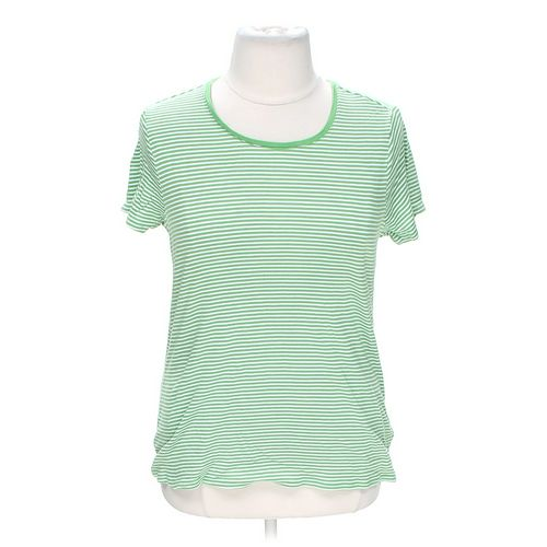 Faded Glory Striped Tee in size 20 at up to 95% Off - Swap.com