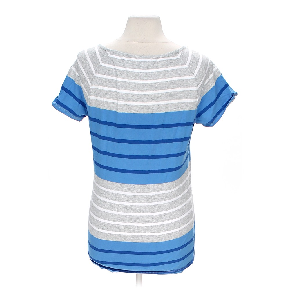 Tommy hilfiger striped tee online consignment for Cotton and elastane t shirts