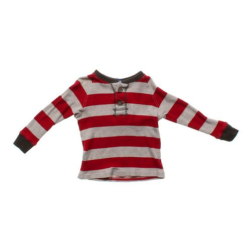 Genuine Kids from OshKosh Striped Thermal Shirt in size 4/4T at up to 95% Off - Swap.com