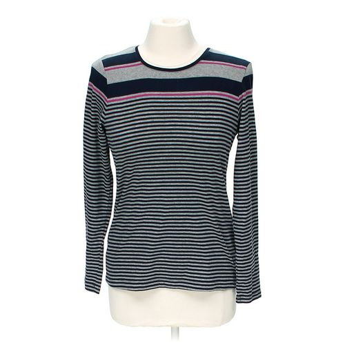 Croft & Barrow Striped Tunic in size M at up to 95% Off - Swap.com
