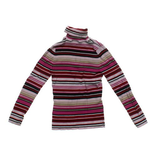 Basic Editions Striped Turtleneck Sweater in size JR 11 at up to 95% Off - Swap.com