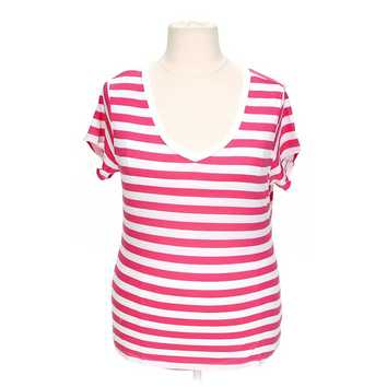 Striped V-Neck T-Shirt for Sale on Swap.com