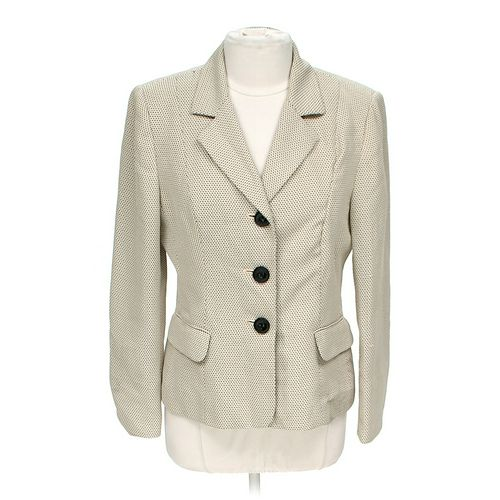 Le Suit Stylish Blazer in size 12 at up to 95% Off - Swap.com