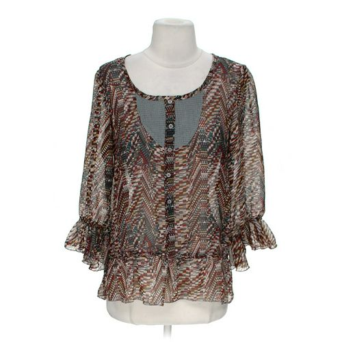 Fun & Flirt Stylish Blouse in size M at up to 95% Off - Swap.com