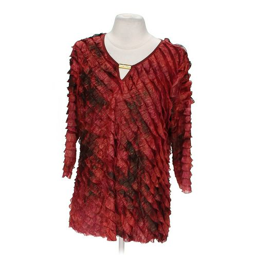 NY Collection Stylish Blouse in size M at up to 95% Off - Swap.com