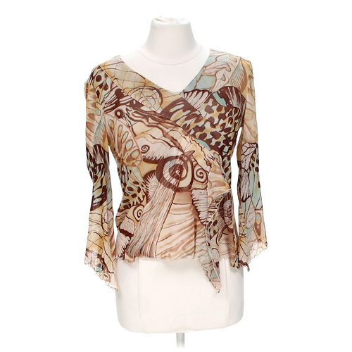 Russel Kengs Stylish Blouse in size S at up to 95% Off - Swap.com