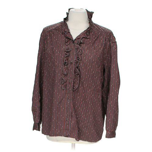 Pins & Needles Stylish Button-up Blouse in size M at up to 95% Off - Swap.com