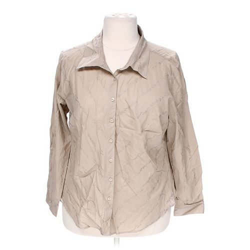 White Stag Stylish Button-up in size 18 at up to 95% Off - Swap.com
