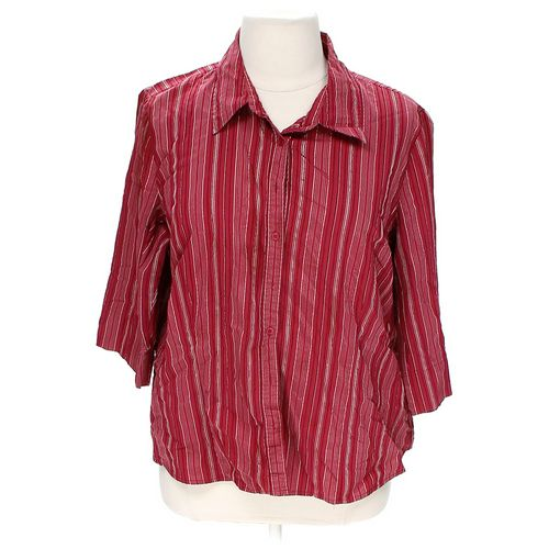 Apt. 9 Stylish Button-up Shirt in size 2X at up to 95% Off - Swap.com