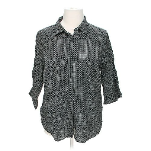 Avenue Stylish Button-up Shirt in size 22 at up to 95% Off - Swap.com