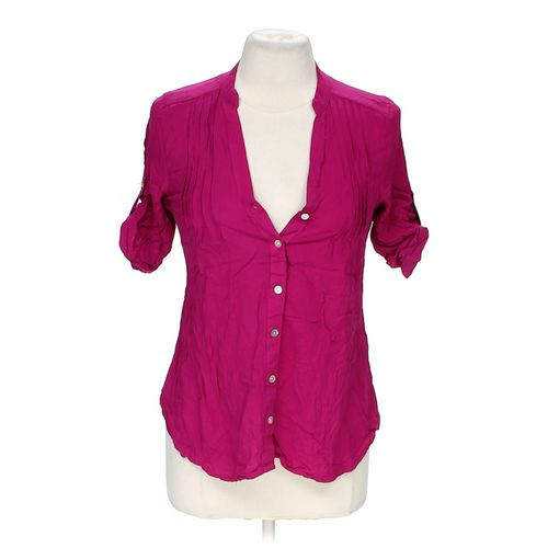 Body Central Stylish Button-up Shirt in size M at up to 95% Off - Swap.com