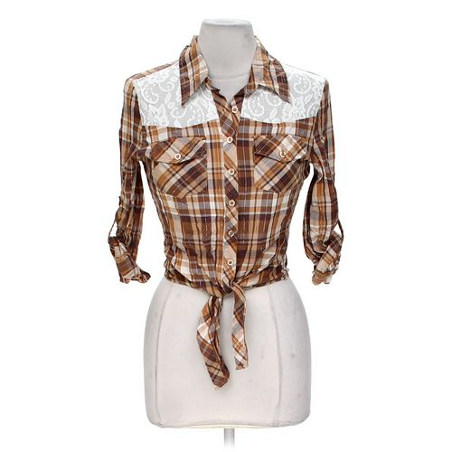 Dots Stylish Button-up Shirt in size S at up to 95% Off - Swap.com