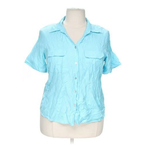 dressbarn Stylish Button-up Shirt in size 18 at up to 95% Off - Swap.com