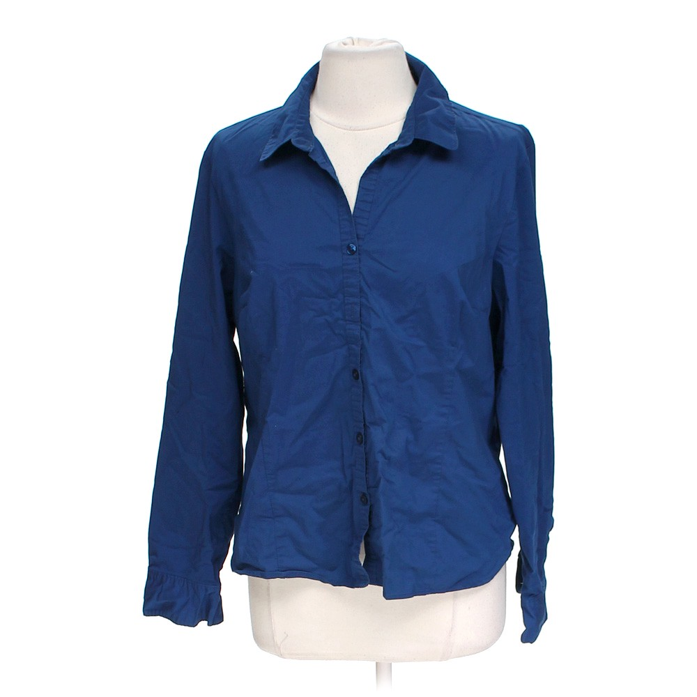 George stylish button up shirt online consignment for Cotton button up shirt