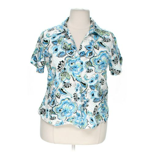 Gloria Vanderbilt Stylish Button-up Shirt in size 2X at up to 95% Off - Swap.com