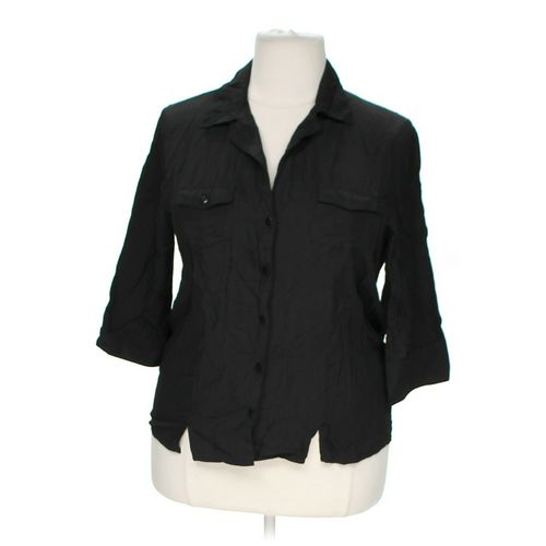 Joanna Stylish Button-up Shirt in size 1X at up to 95% Off - Swap.com