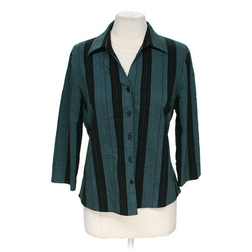 Laura G. Stylish Button-up Shirt in size M at up to 95% Off - Swap.com