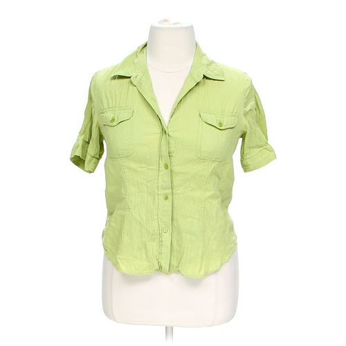 Liz & Co. Stylish Button-up Shirt in size L at up to 95% Off - Swap.com