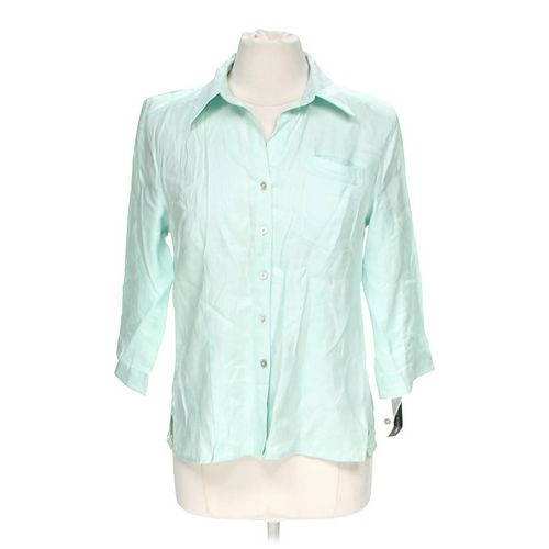 Saint Tropez Stylish Button-up Shirt in size M at up to 95% Off - Swap.com