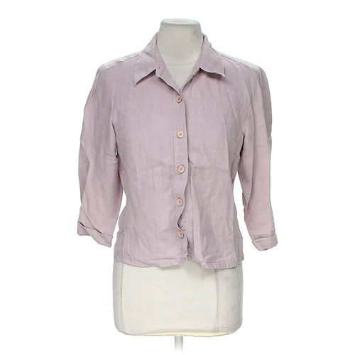 Sigrid Olsen Stylish Button-up Shirt in size 10 at up to 95% Off - Swap.com