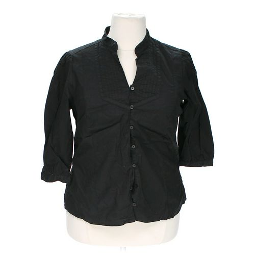 St. John's Bay Stylish Button-up Shirt in size 1X at up to 95% Off - Swap.com