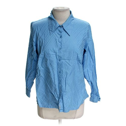 Talbots Stylish Button-up Shirt in size 14 at up to 95% Off - Swap.com