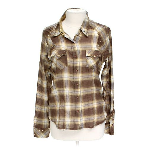 Stylish Button-up Shirt in size XL at up to 95% Off - Swap.com