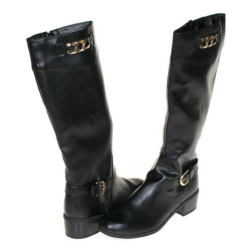 Karen Scott Stylish Calf Boots in size 10 Women's at up to 95% Off - Swap.com