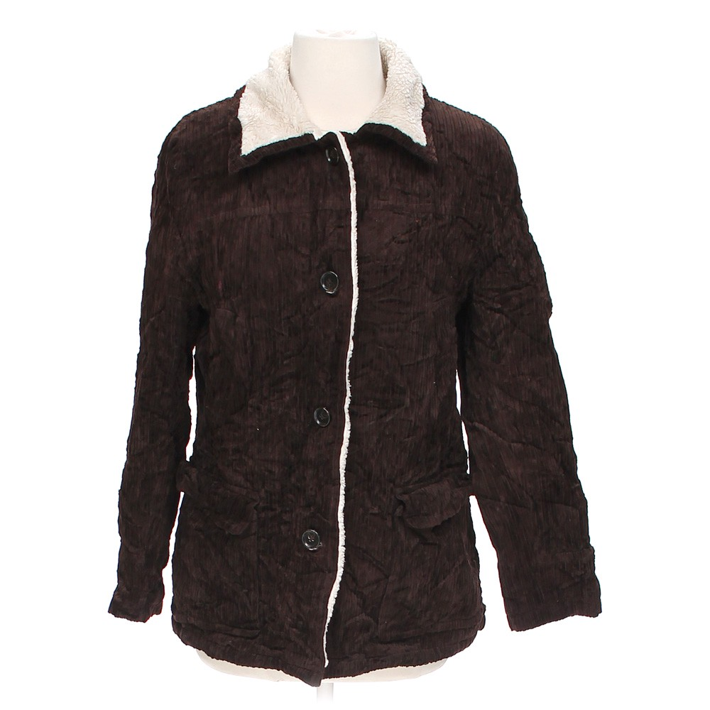 Brown Izzi Outerwear Stylish Coat in size S at up to 95% Off - Swap.com