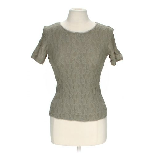 Patricia Jones Stylish Crew Neck Shirt in size M at up to 95% Off - Swap.com