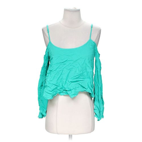 Body Central Stylish Cropped Shirt in size M at up to 95% Off - Swap.com