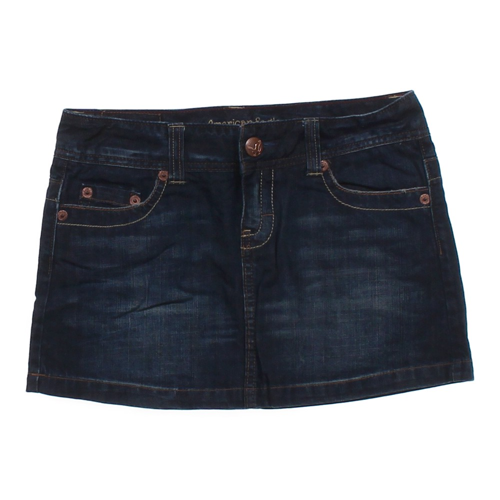 american eagle outfitters stylish denim skirt in size 4 at
