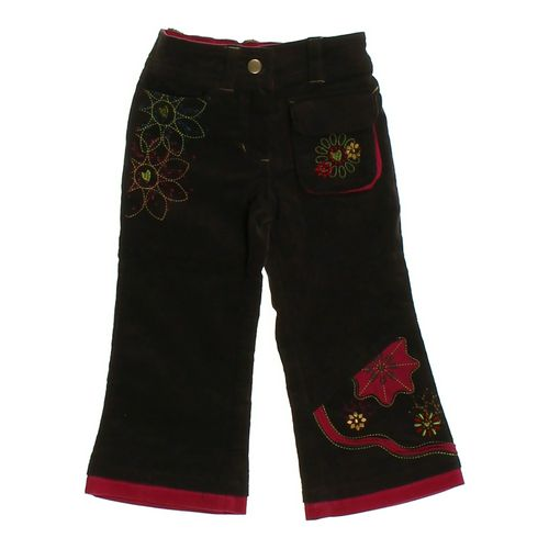 Deux Par Deux Stylish Embroidered Pants in size 2/2T at up to 95% Off - Swap.com