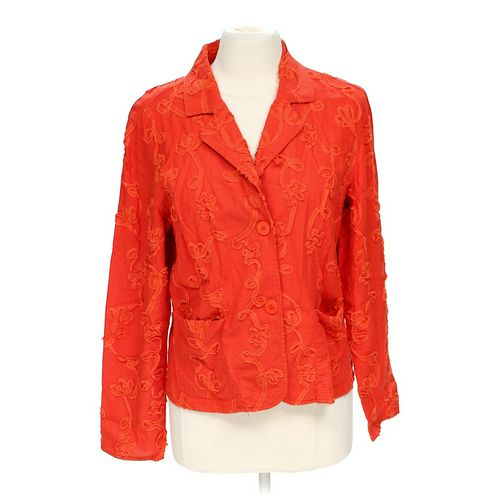Coldwater Creek Stylish Floral Jacket in size M at up to 95% Off - Swap.com