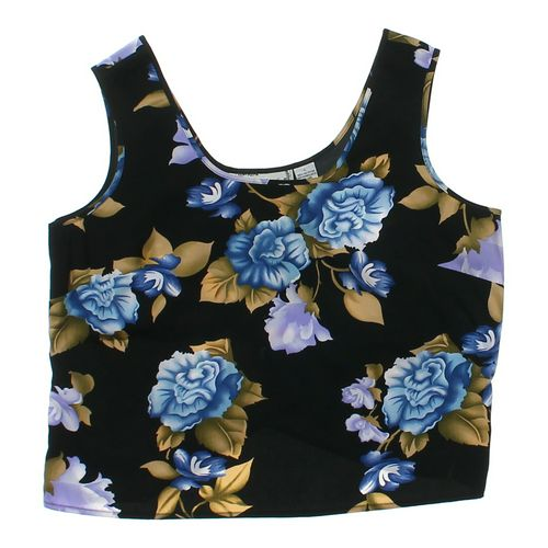 Sarah Bentley Stylish Floral Tank Top in size L at up to 95% Off - Swap.com