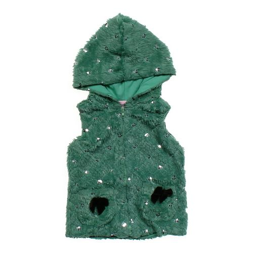 Little Lass Stylish Hooded Vest in size 12 mo at up to 95% Off - Swap.com