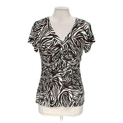 Alfani Stylish Patterned Blouse in size M at up to 95% Off - Swap.com