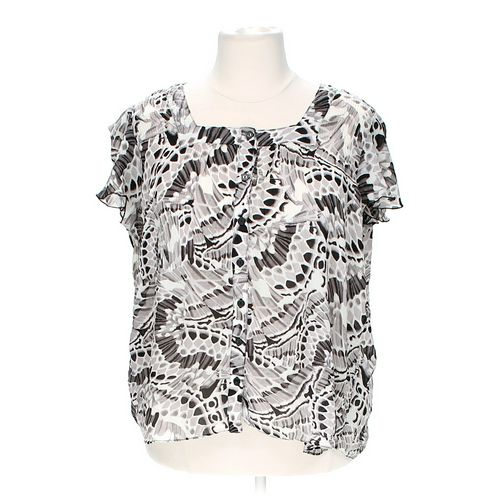 Serenade Stylish Patterned Blouse in size 2X at up to 95% Off - Swap.com
