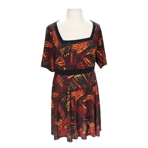 Isabel + Alice Stylish Patterned Dress in size 1X at up to 95% Off - Swap.com