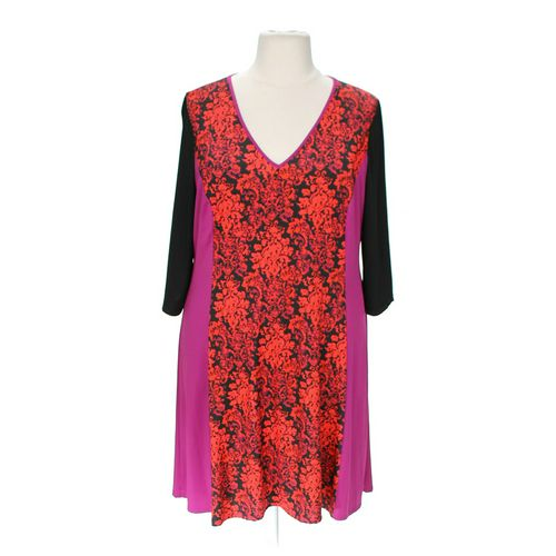 Jete Stylish Patterned Dress in size 2X at up to 95% Off - Swap.com