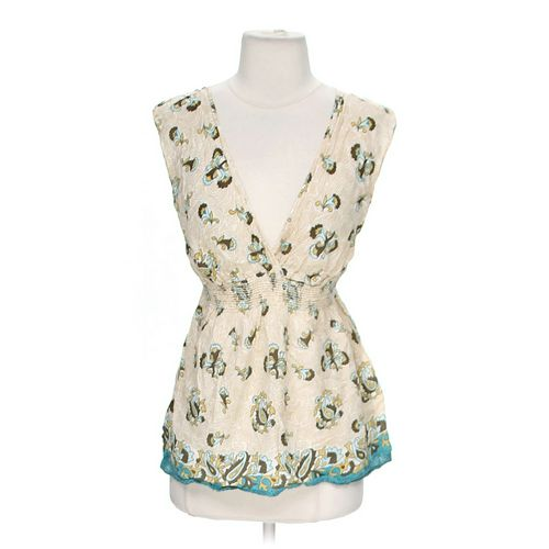 Forever Stylish Patterned Tank Top in size M at up to 95% Off - Swap.com