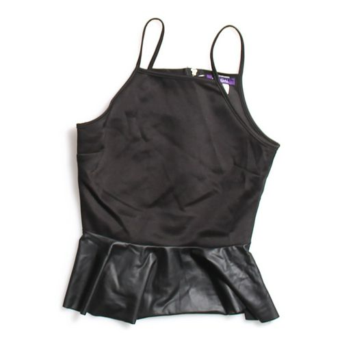 Hot Gal Stylish Peplum Tank Top in size JR 3 at up to 95% Off - Swap.com