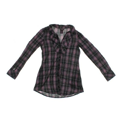 Fire Los Angeles Stylish Plaid Button-up Shirt in size JR 7 at up to 95% Off - Swap.com