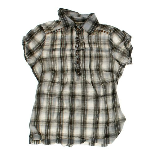 Energie Stylish Plaid Shirt in size JR 7 at up to 95% Off - Swap.com