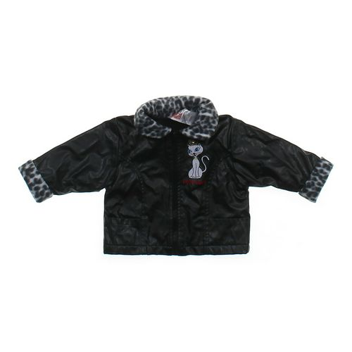 Park Bench Kids Stylish Pleather Jacket in size 12 mo at up to 95% Off - Swap.com