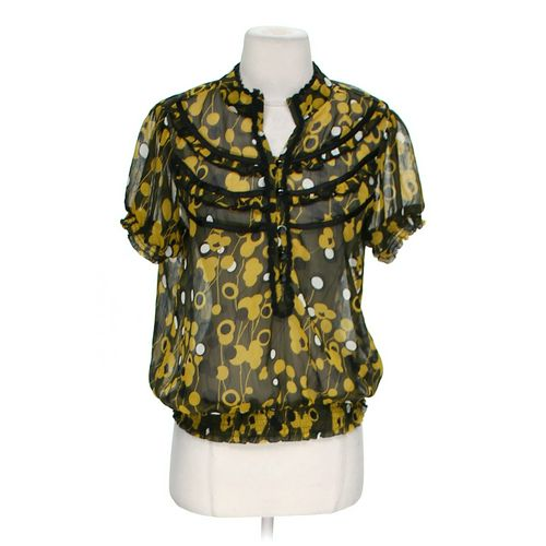 Forever 21 Stylish Sheer Blouse in size M at up to 95% Off - Swap.com