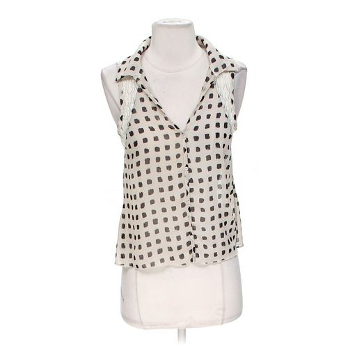 January 7 Stylish Sheer Tank Top in size S at up to 95% Off - Swap.com