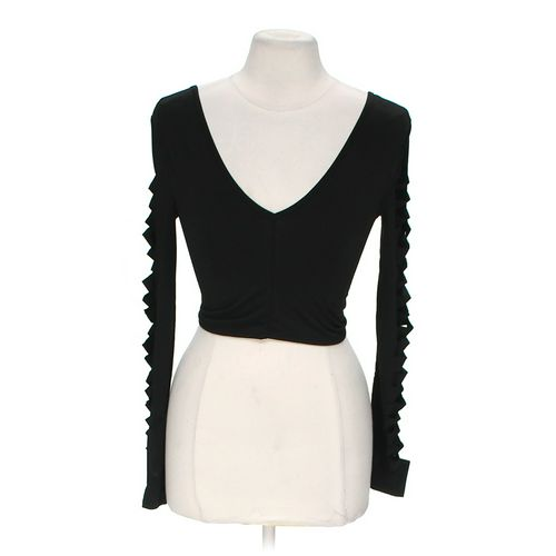 Body Central Stylish Sleeve Cropped Shirt in size M at up to 95% Off - Swap.com